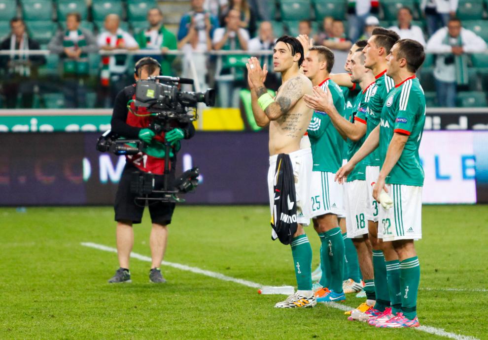 Legia Warszawa 1-0 KSC Lokeren - fot. Piotr Galas - wiadomosci24.pl (zdjęcie 55 z 57)
