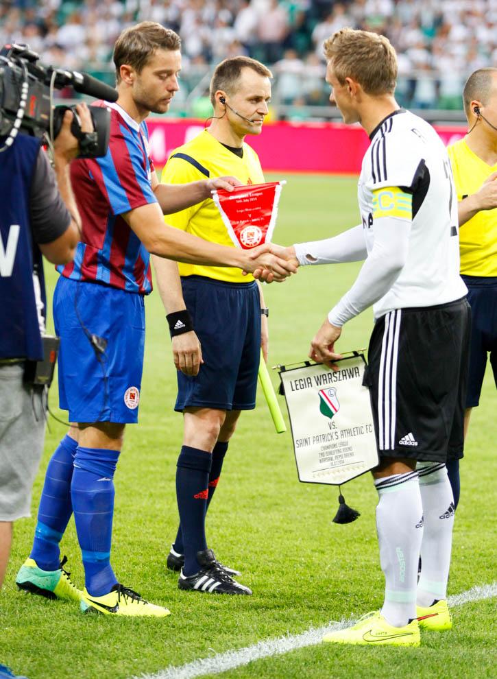Legia Warszawa 1-1 Saint Patricks Athletic - fot. Piotr Galas - wiadomosci24.pl (zdjęcie 10 z 48)