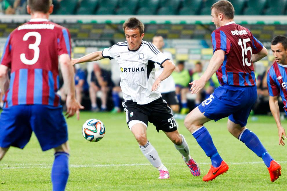 Legia Warszawa 1-1 Saint Patricks Athletic - fot. Piotr Galas - wiadomosci24.pl (zdjęcie 15 z 48)
