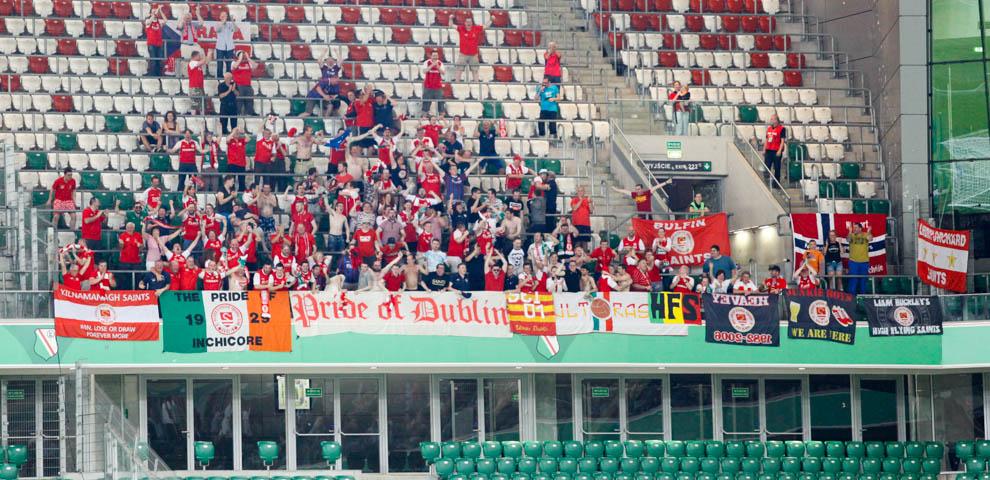 Legia Warszawa 1-1 Saint Patricks Athletic - fot. Piotr Galas - wiadomosci24.pl (zdjęcie 21 z 48)