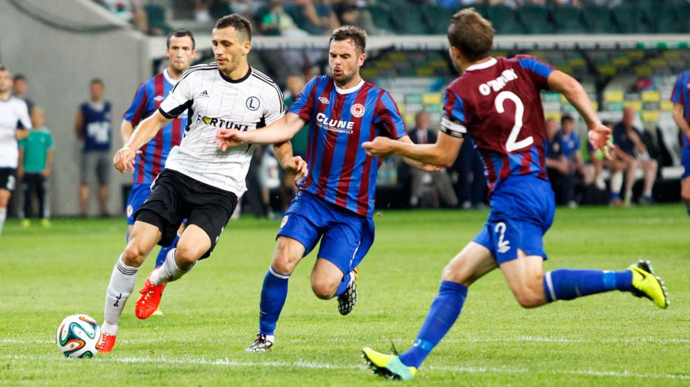 Legia Warszawa 1-1 Saint Patricks Athletic - fot. Piotr Galas - wiadomosci24.pl (zdjęcie 27 z 48)