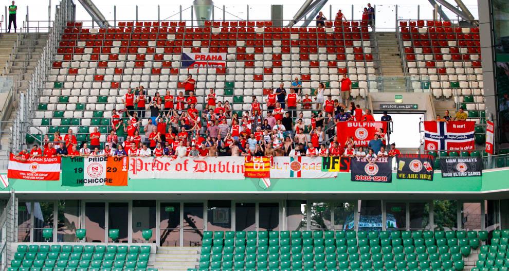Legia Warszawa 1-1 Saint Patricks Athletic - fot. Piotr Galas - wiadomosci24.pl (zdjęcie 3 z 48)