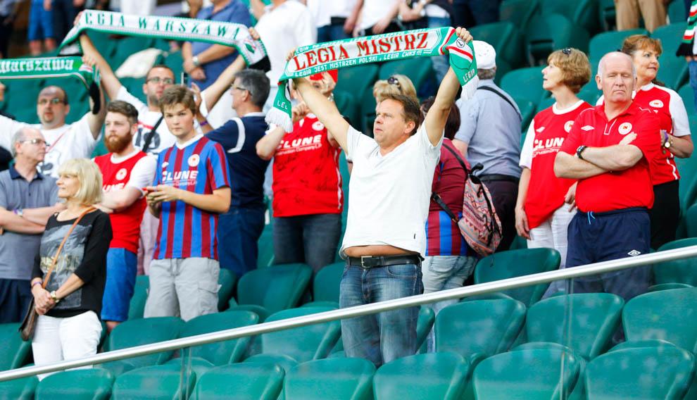 Legia Warszawa 1-1 Saint Patricks Athletic - fot. Piotr Galas - wiadomosci24.pl (zdjęcie 4 z 48)