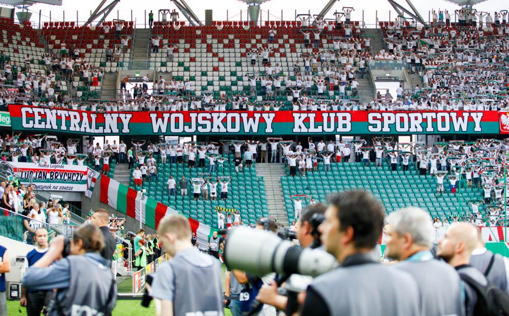 Legia Warszawa 1-1 Saint Patricks Athletic - fot. Piotr Galas - wiadomosci24.pl (zdjęcie 5 z 48)