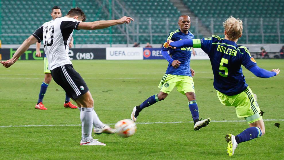 Legia Warszawa 0-3 Ajax Amsterdam - fot. Piotr Galas/wiadomosci24.pl (zdjęcie 10 z 45)