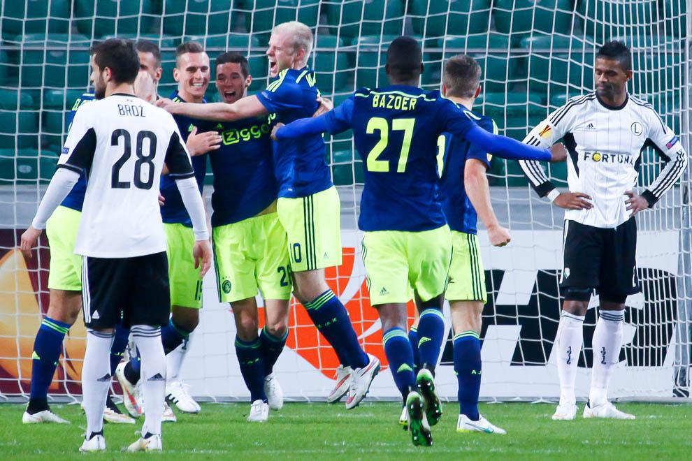 Legia Warszawa 0-3 Ajax Amsterdam - fot. Piotr Galas/wiadomosci24.pl (zdjęcie 15 z 45)