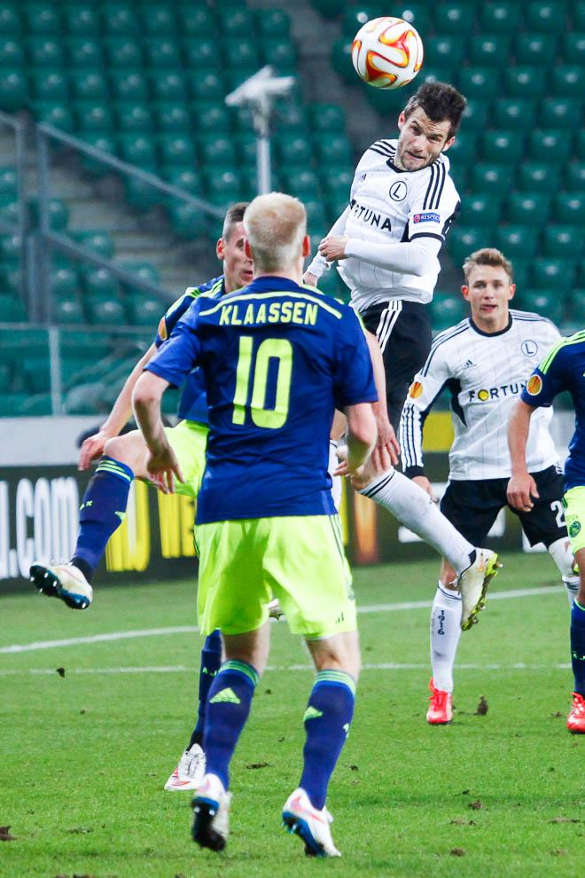 Legia Warszawa 0-3 Ajax Amsterdam - fot. Piotr Galas/wiadomosci24.pl (zdjęcie 16 z 45)