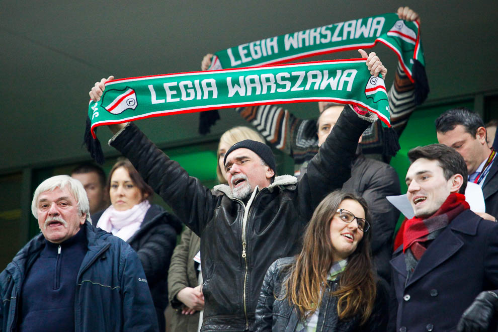 Legia Warszawa 0-3 Ajax Amsterdam - fot. Piotr Galas/wiadomosci24.pl (zdjęcie 2 z 45)