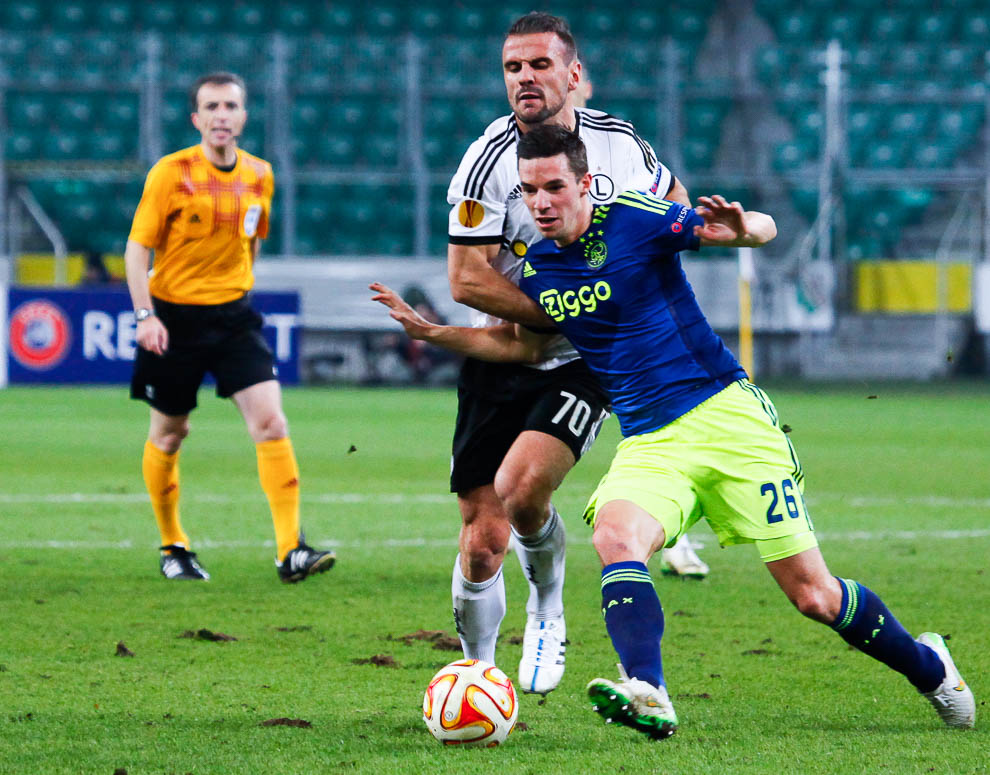 Legia Warszawa 0-3 Ajax Amsterdam - fot. Piotr Galas/wiadomosci24.pl (zdjęcie 24 z 45)