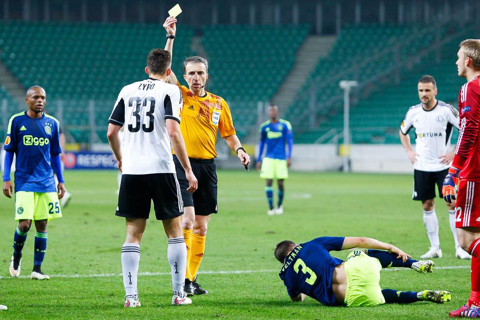 Legia Warszawa 0-3 Ajax Amsterdam - fot. Piotr Galas/wiadomosci24.pl (zdjęcie 32 z 45)