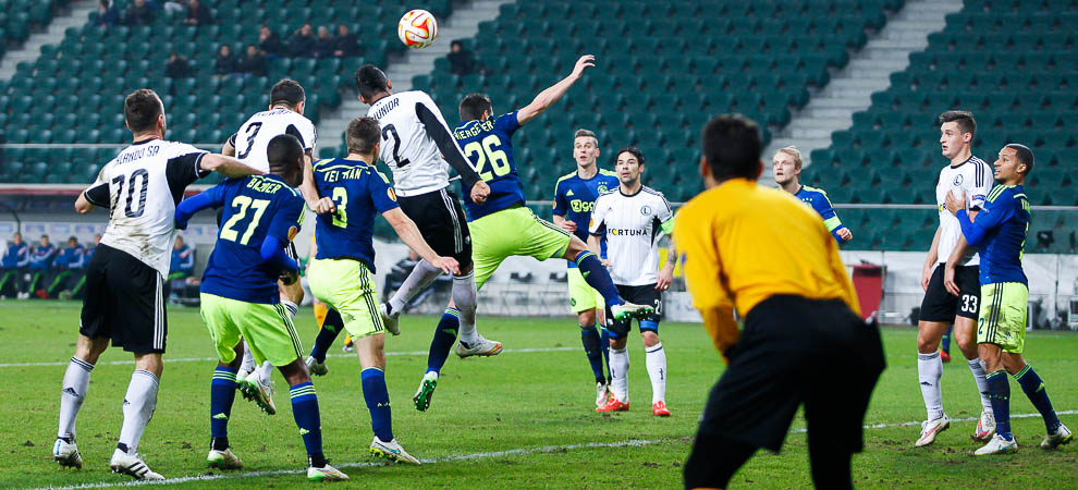 Legia Warszawa 0-3 Ajax Amsterdam - fot. Piotr Galas/wiadomosci24.pl (zdjęcie 34 z 45)