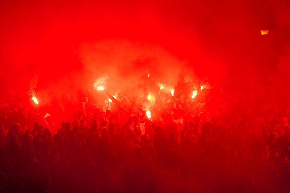 Legia Warszawa 0-3 Ajax Amsterdam - fot. Piotr Galas/wiadomosci24.pl (zdjęcie 38 z 45)