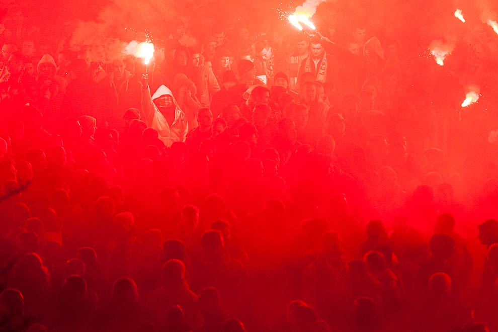 Legia Warszawa 0-3 Ajax Amsterdam - fot. Piotr Galas/wiadomosci24.pl (zdjęcie 39 z 45)
