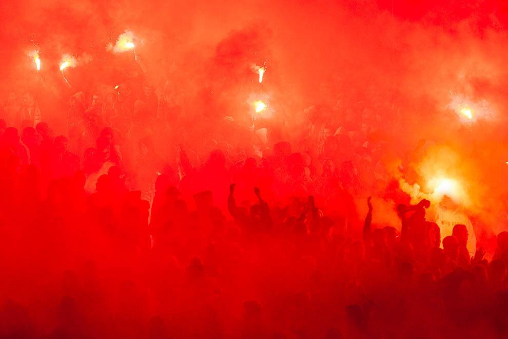 Legia Warszawa 0-3 Ajax Amsterdam - fot. Piotr Galas/wiadomosci24.pl (zdjęcie 41 z 45)