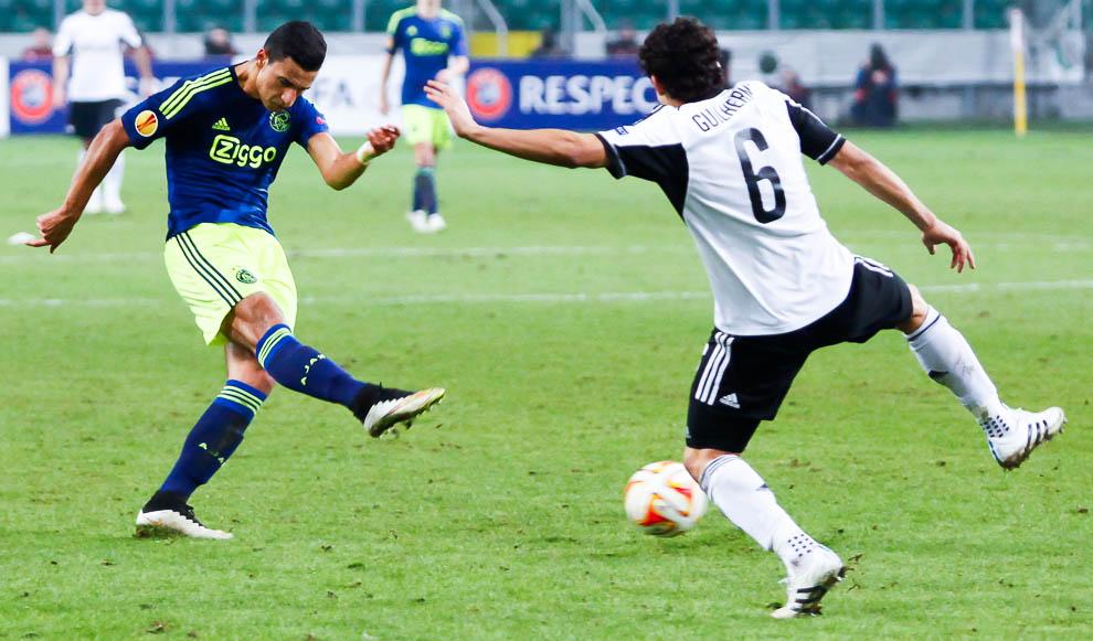 Legia Warszawa 0-3 Ajax Amsterdam - fot. Piotr Galas/wiadomosci24.pl (zdjęcie 44 z 45)
