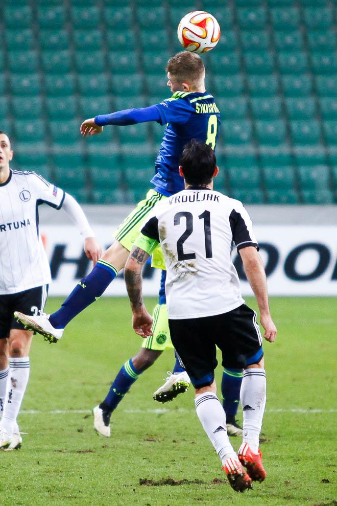 Legia Warszawa 0-3 Ajax Amsterdam - fot. Piotr Galas/wiadomosci24.pl (zdjęcie 45 z 45)