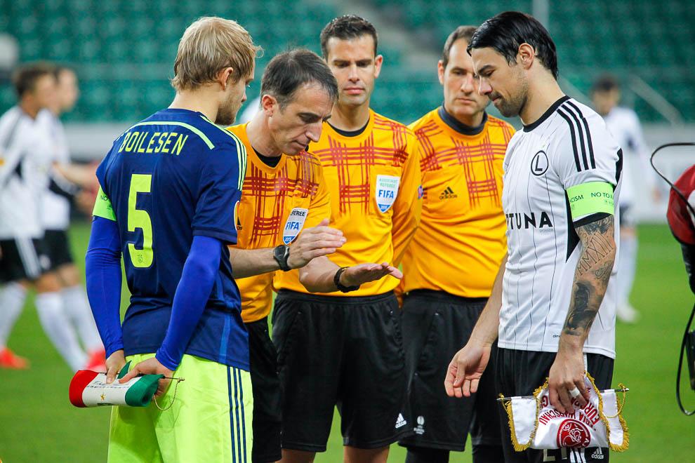 Legia Warszawa 0-3 Ajax Amsterdam - fot. Piotr Galas/wiadomosci24.pl (zdjęcie 8 z 45)