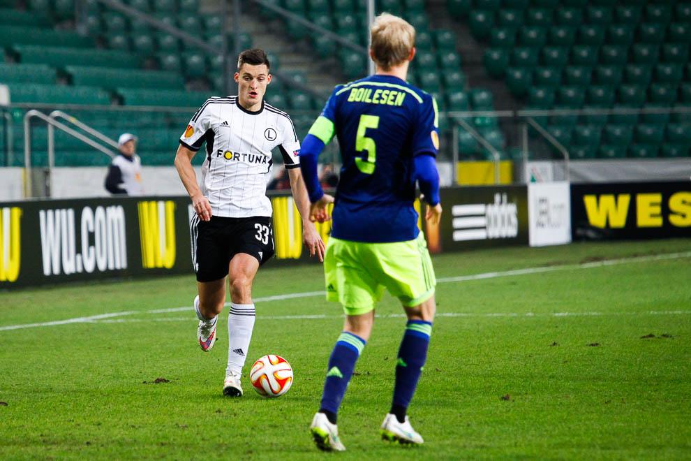 Legia Warszawa 0-3 Ajax Amsterdam - fot. Piotr Galas/wiadomosci24.pl (zdjęcie 9 z 45)