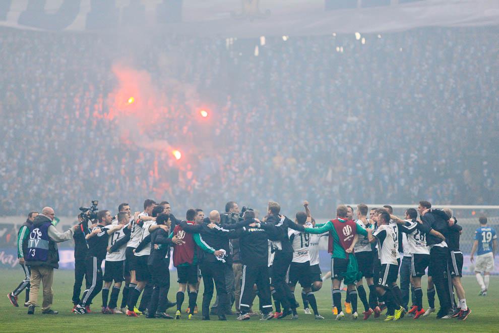 Finał Pucharu Polski: Lech Poznań 1-2 Legia Warszawa - fot. Piotr Galas (zdjęcie 104 z 172)