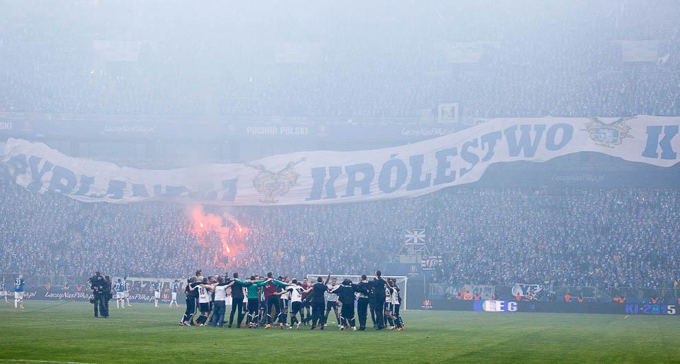 Finał Pucharu Polski: Lech Poznań 1-2 Legia Warszawa - fot. Piotr Galas (zdjęcie 105 z 172)