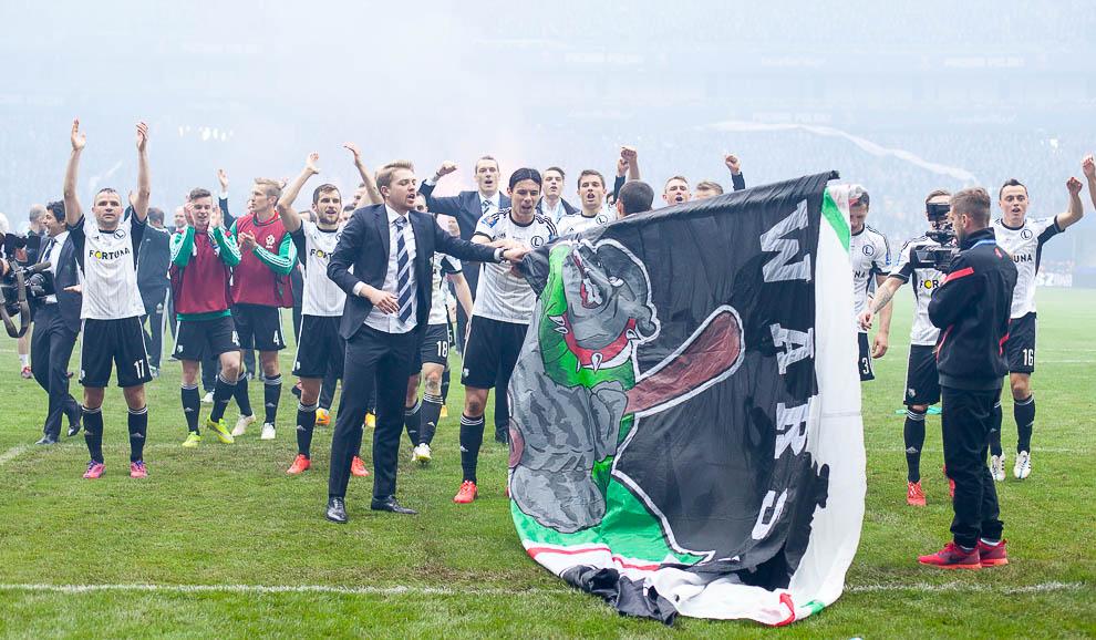 Finał Pucharu Polski: Lech Poznań 1-2 Legia Warszawa - fot. Piotr Galas (zdjęcie 107 z 172)
