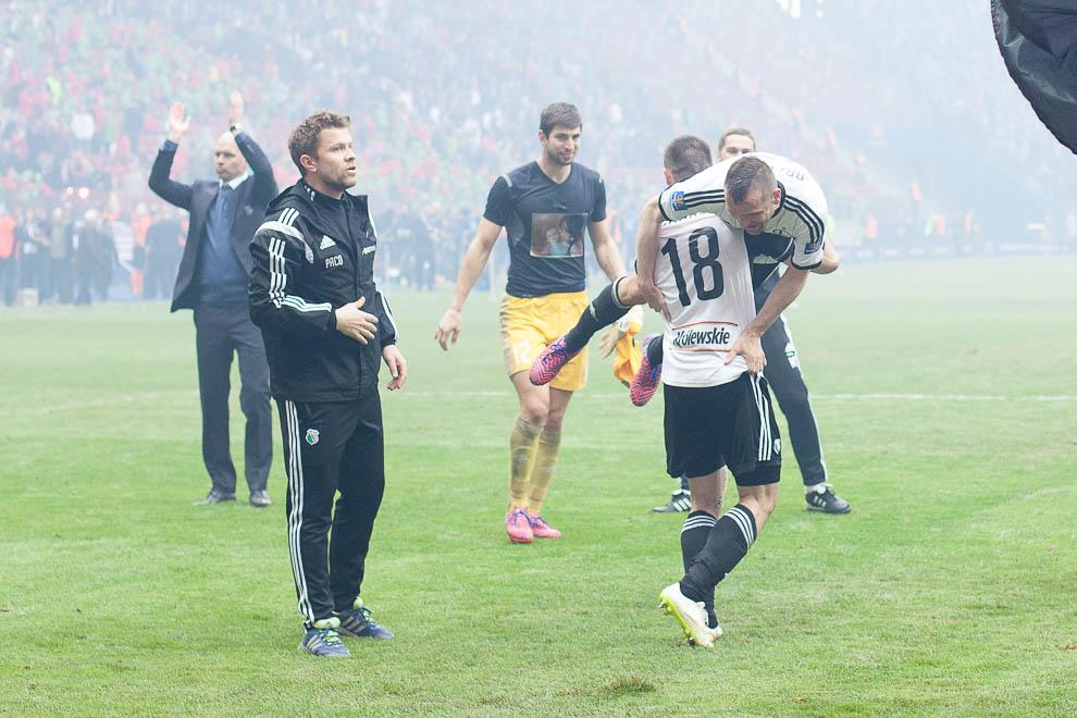 Finał Pucharu Polski: Lech Poznań 1-2 Legia Warszawa - fot. Piotr Galas (zdjęcie 108 z 172)