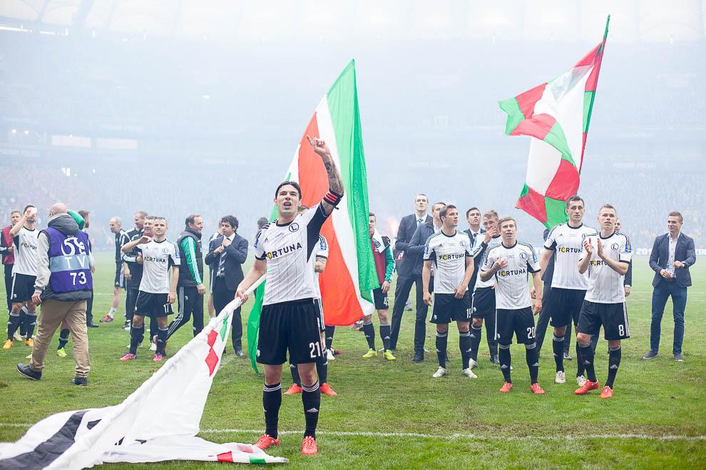 Finał Pucharu Polski: Lech Poznań 1-2 Legia Warszawa - fot. Piotr Galas (zdjęcie 110 z 172)