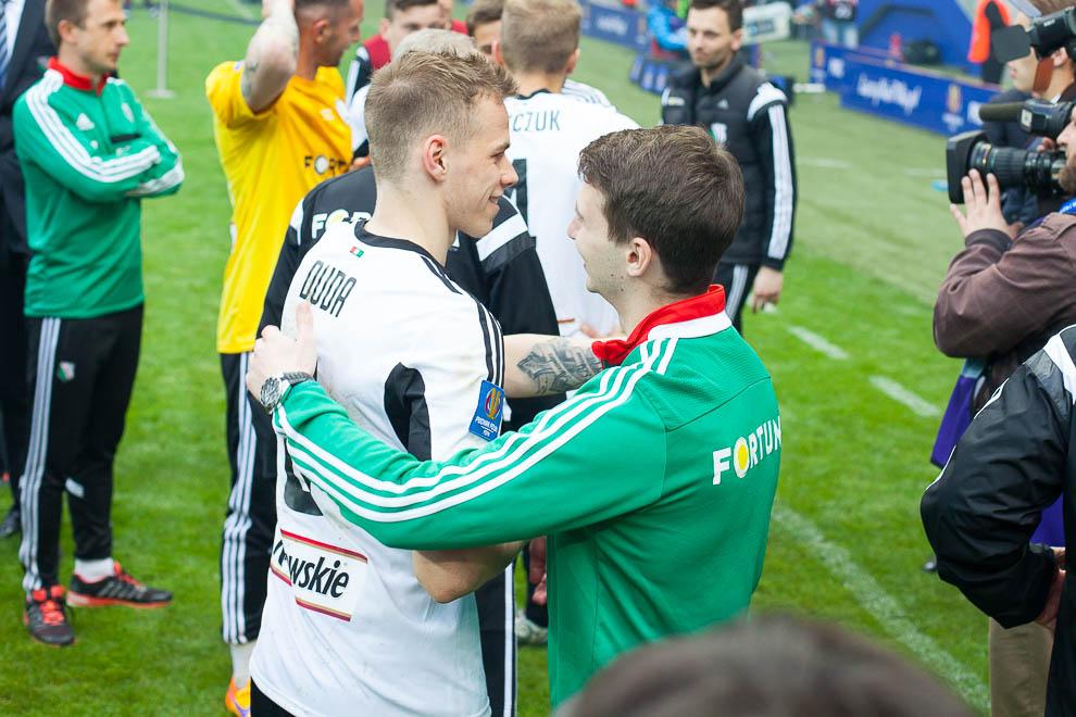 Finał Pucharu Polski: Lech Poznań 1-2 Legia Warszawa - fot. Piotr Galas (zdjęcie 113 z 172)
