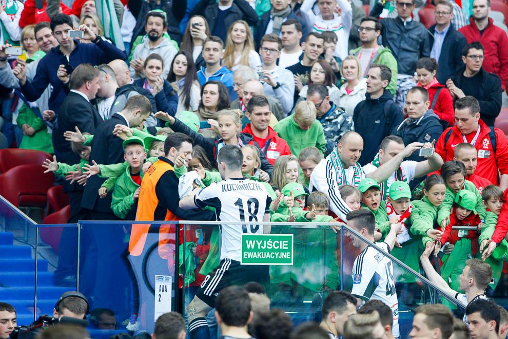 Finał Pucharu Polski: Lech Poznań 1-2 Legia Warszawa - fot. Piotr Galas (zdjęcie 126 z 172)