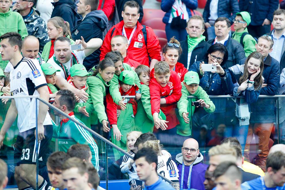 Finał Pucharu Polski: Lech Poznań 1-2 Legia Warszawa - fot. Piotr Galas (zdjęcie 127 z 172)
