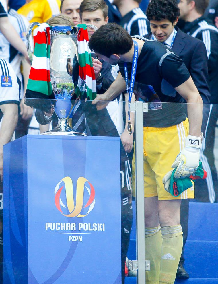 Finał Pucharu Polski: Lech Poznań 1-2 Legia Warszawa - fot. Piotr Galas (zdjęcie 131 z 172)