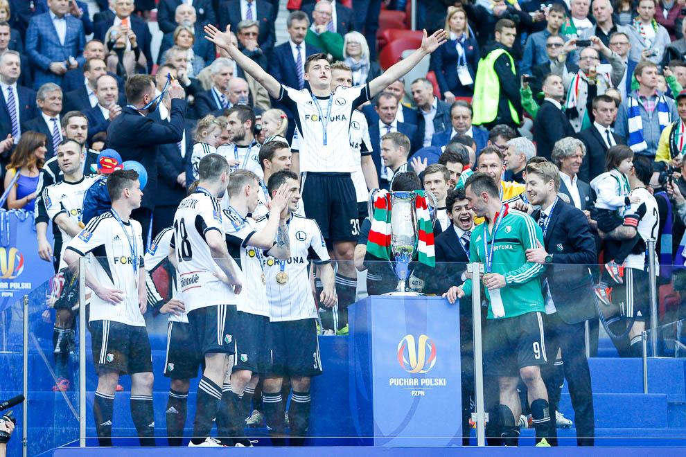 Finał Pucharu Polski: Lech Poznań 1-2 Legia Warszawa - fot. Piotr Galas (zdjęcie 133 z 172)