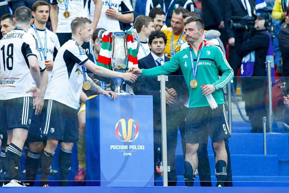 Finał Pucharu Polski: Lech Poznań 1-2 Legia Warszawa - fot. Piotr Galas (zdjęcie 135 z 172)