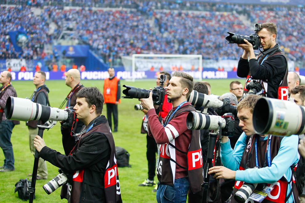 Finał Pucharu Polski: Lech Poznań 1-2 Legia Warszawa - fot. Piotr Galas (zdjęcie 136 z 172)