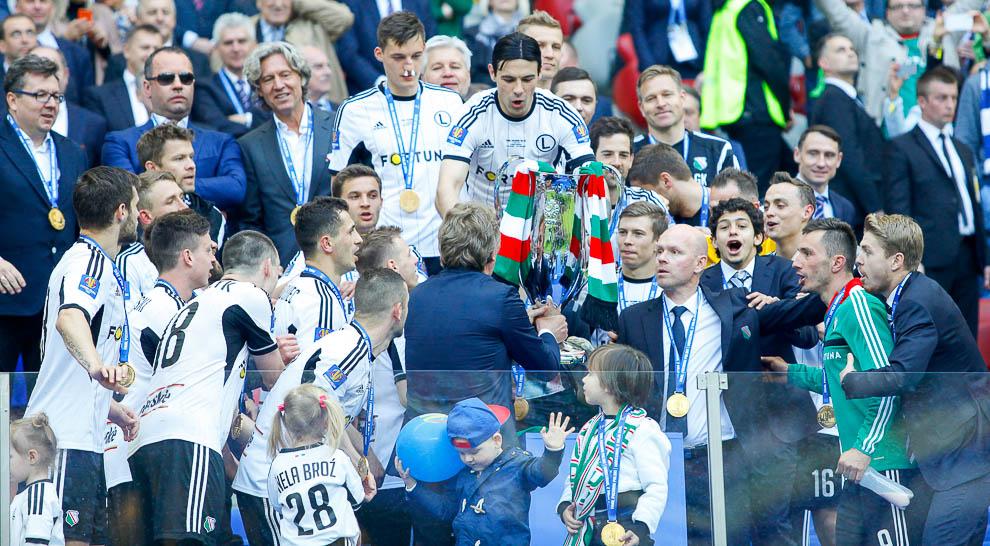 Finał Pucharu Polski: Lech Poznań 1-2 Legia Warszawa - fot. Piotr Galas (zdjęcie 137 z 172)