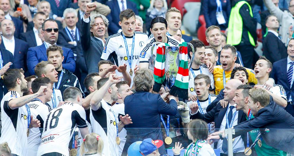 Finał Pucharu Polski: Lech Poznań 1-2 Legia Warszawa - fot. Piotr Galas (zdjęcie 138 z 172)