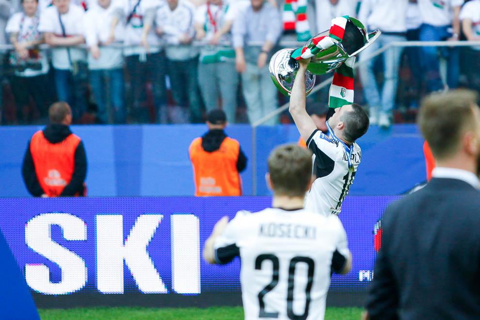 Finał Pucharu Polski: Lech Poznań 1-2 Legia Warszawa - fot. Piotr Galas (zdjęcie 143 z 172)
