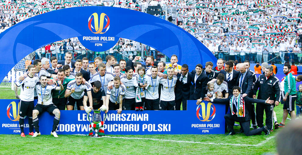 Finał Pucharu Polski: Lech Poznań 1-2 Legia Warszawa - fot. Piotr Galas (zdjęcie 147 z 172)