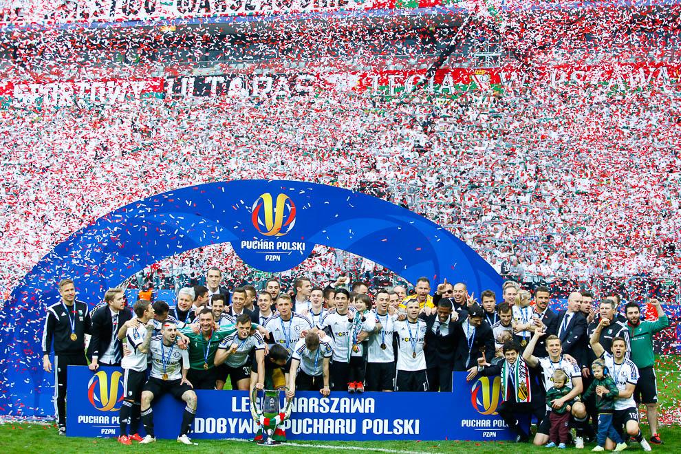 Finał Pucharu Polski: Lech Poznań 1-2 Legia Warszawa - fot. Piotr Galas (zdjęcie 148 z 172)