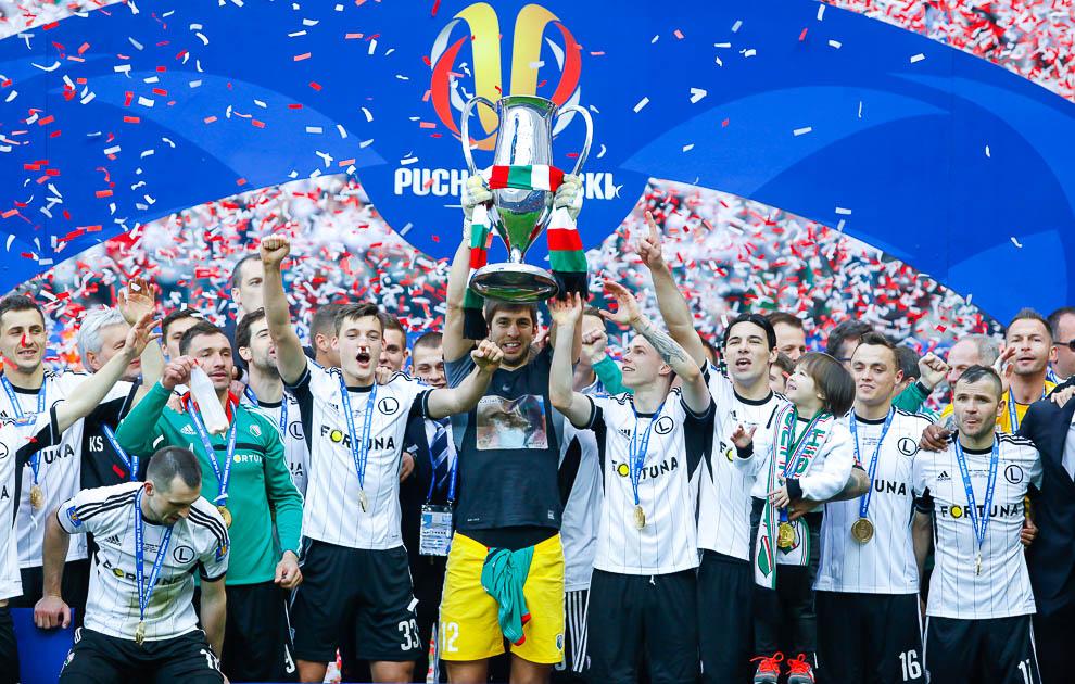 Finał Pucharu Polski: Lech Poznań 1-2 Legia Warszawa - fot. Piotr Galas (zdjęcie 149 z 172)