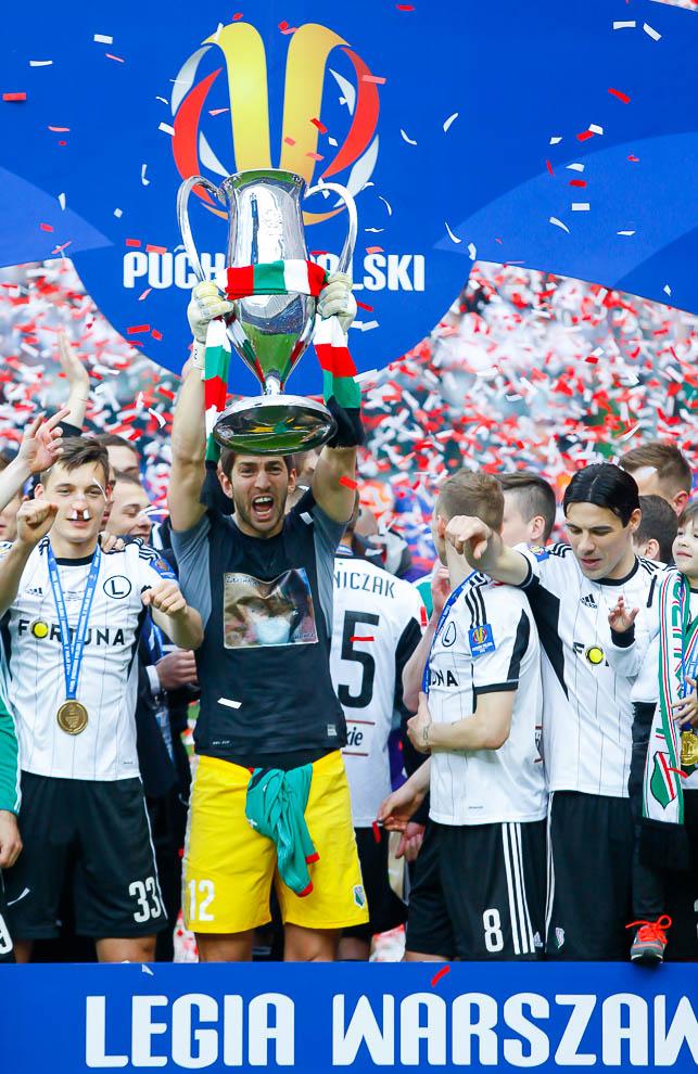 Finał Pucharu Polski: Lech Poznań 1-2 Legia Warszawa - fot. Piotr Galas (zdjęcie 150 z 172)