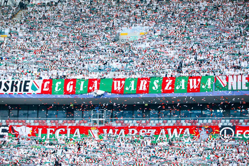 Finał Pucharu Polski: Lech Poznań 1-2 Legia Warszawa - fot. Piotr Galas (zdjęcie 151 z 172)