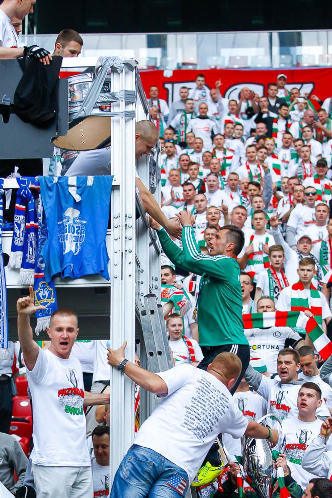 Finał Pucharu Polski: Lech Poznań 1-2 Legia Warszawa - fot. Piotr Galas (zdjęcie 154 z 172)