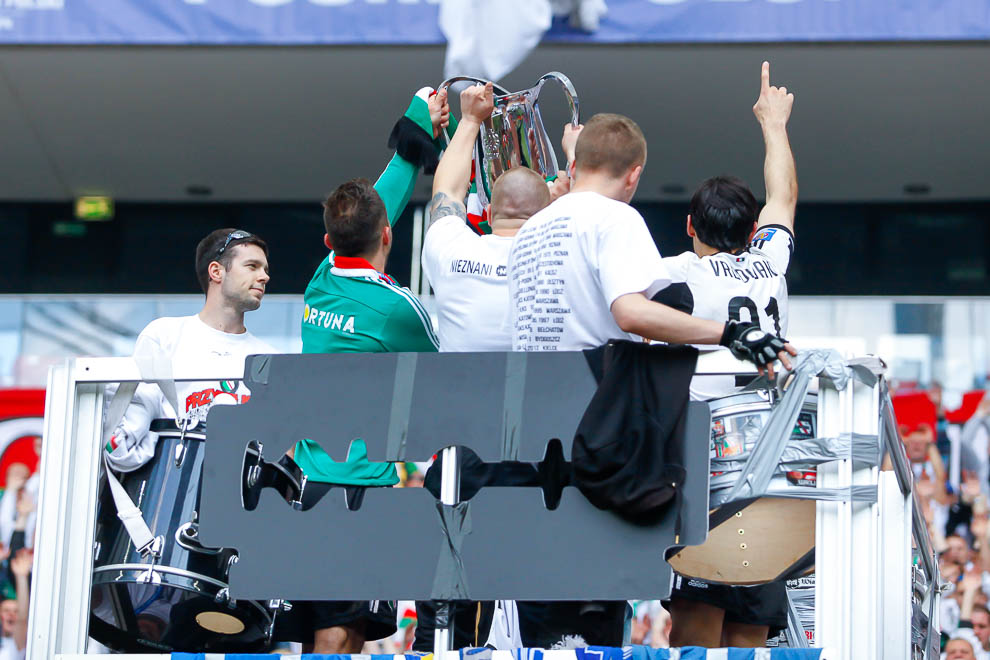 Finał Pucharu Polski: Lech Poznań 1-2 Legia Warszawa - fot. Piotr Galas (zdjęcie 155 z 172)