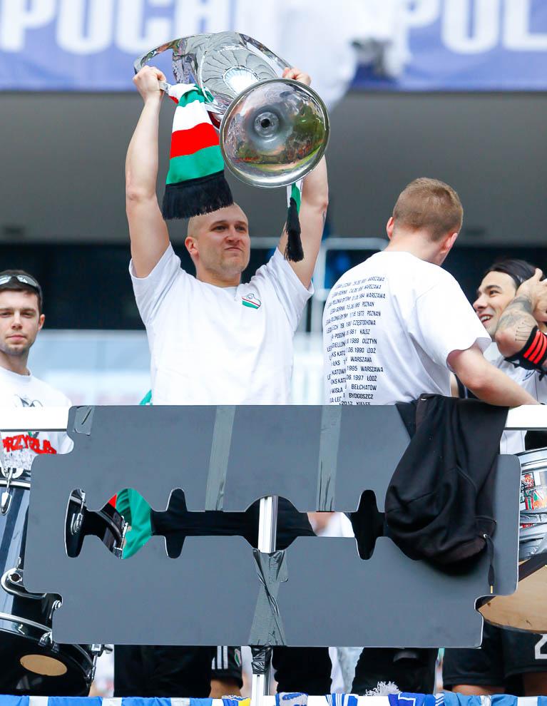 Finał Pucharu Polski: Lech Poznań 1-2 Legia Warszawa - fot. Piotr Galas (zdjęcie 156 z 172)