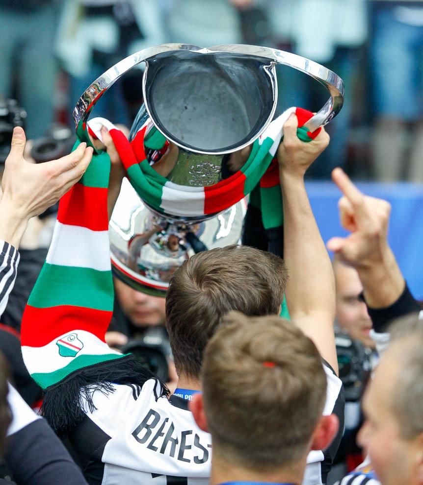 Finał Pucharu Polski: Lech Poznań 1-2 Legia Warszawa - fot. Piotr Galas (zdjęcie 159 z 172)