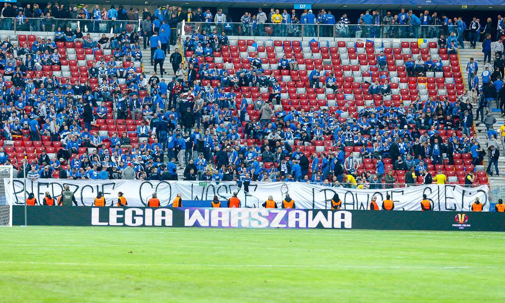 Finał Pucharu Polski: Lech Poznań 1-2 Legia Warszawa - fot. Piotr Galas (zdjęcie 166 z 172)