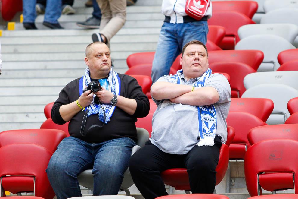Finał Pucharu Polski: Lech Poznań 1-2 Legia Warszawa - fot. Piotr Galas (zdjęcie 17 z 172)