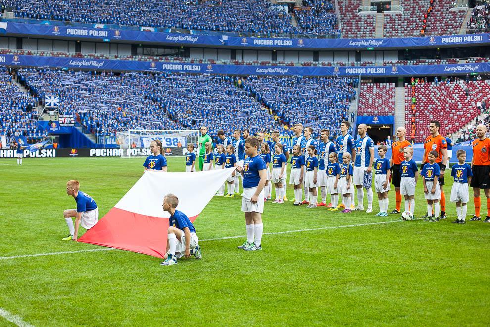 Finał Pucharu Polski: Lech Poznań 1-2 Legia Warszawa - fot. Piotr Galas (zdjęcie 32 z 172)