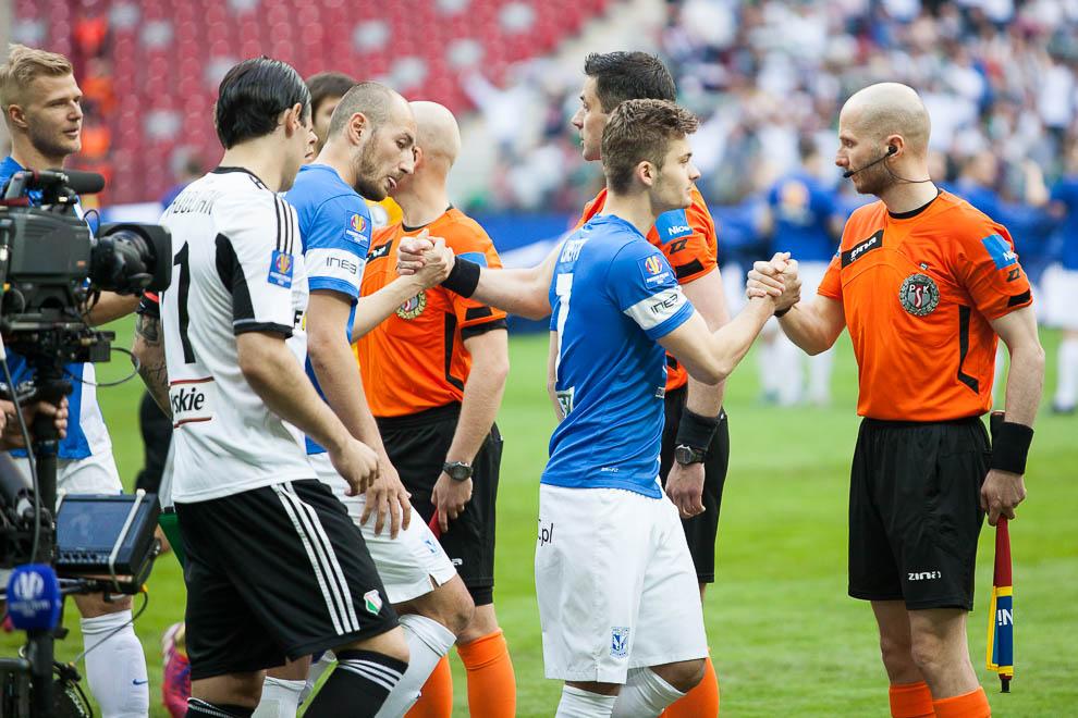 Finał Pucharu Polski: Lech Poznań 1-2 Legia Warszawa - fot. Piotr Galas (zdjęcie 35 z 172)